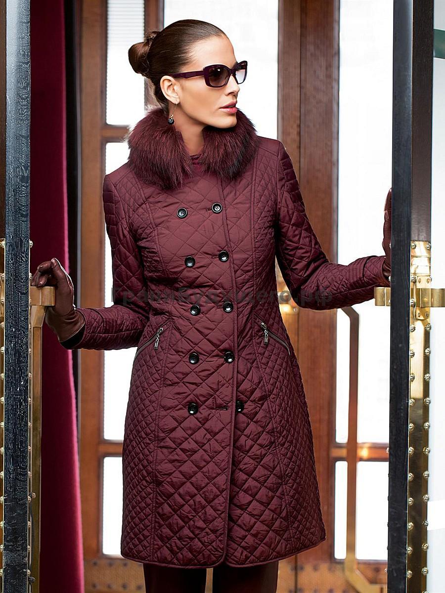 Стеганые женские пальто